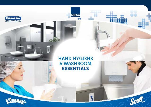 Brochure - Kimberly Clark produktbrochure - Hand hygiene & washroom essentials